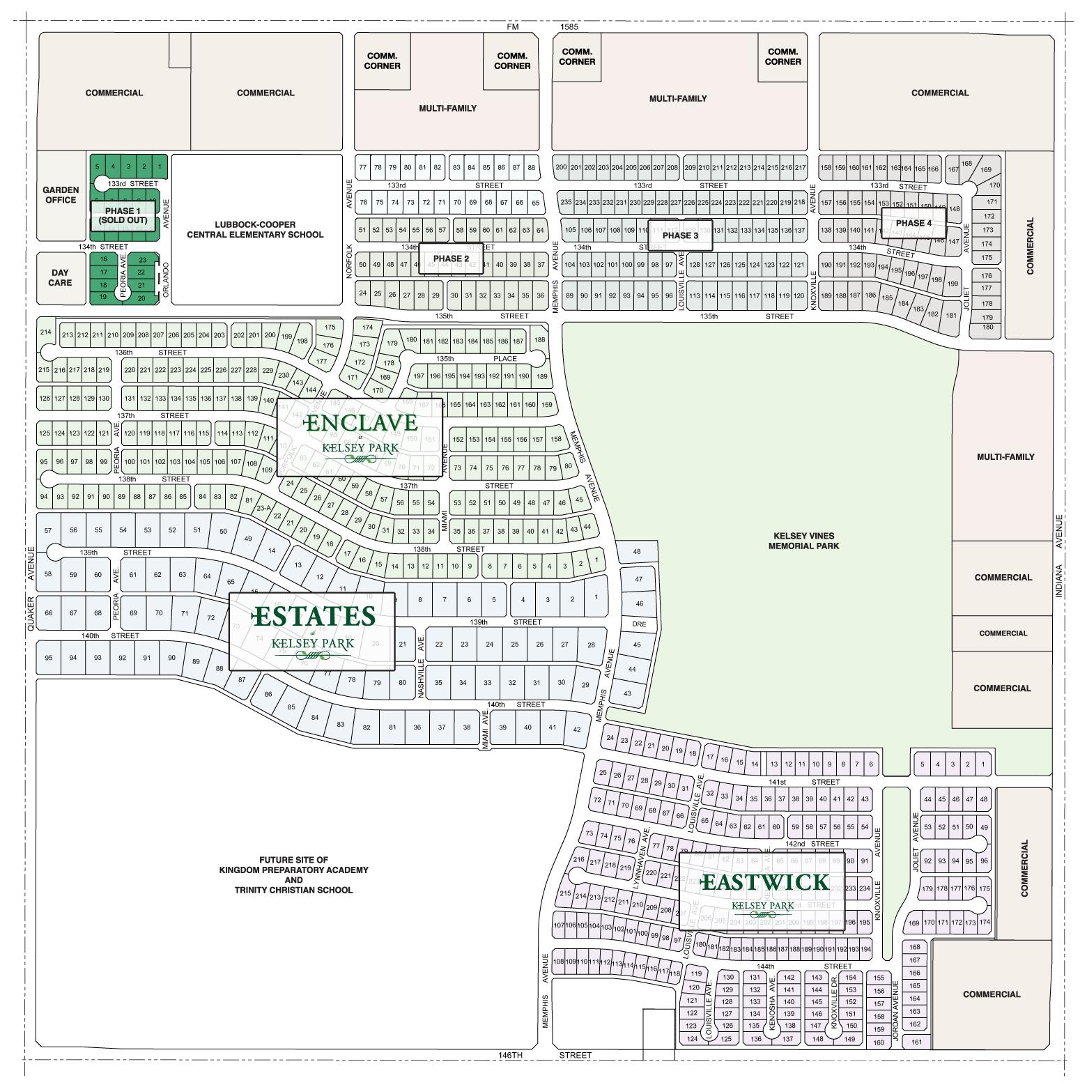 Kelsey Park - Phase 1